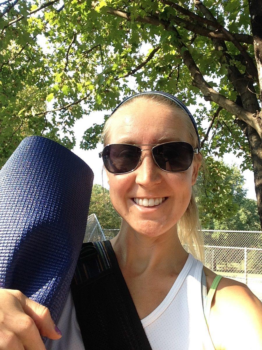Yoga, First Marathon, Running, 26 miles