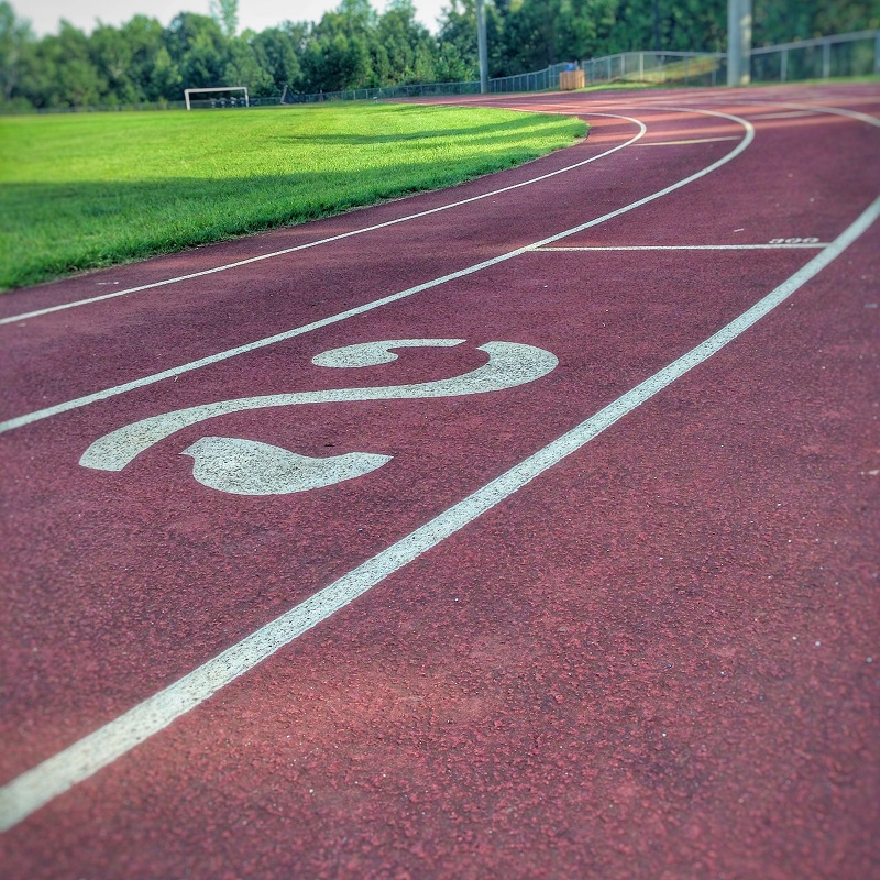 Running track for speedwork
