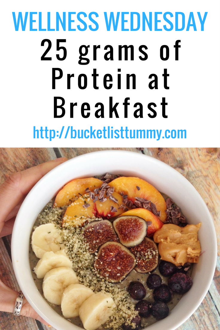 Wellness Wednesday: 25 grams of protein