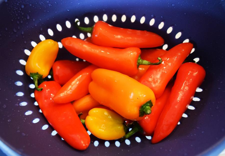 Easy Chickpea Pepper Poppers, Appetizer, Football