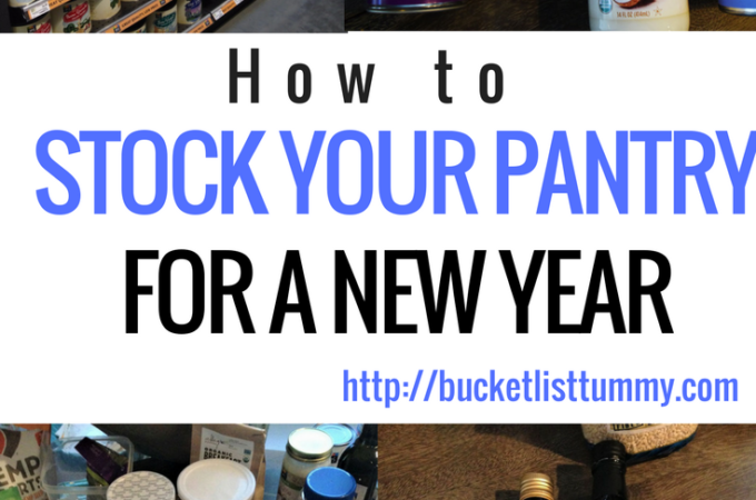 How to Stock Your Pantry For the New Year