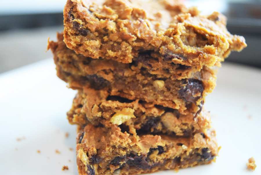 bar recipes, chickpea bars, chocolate