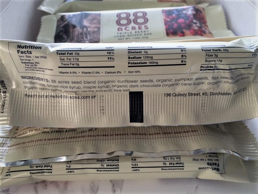 88 Acres ingredients