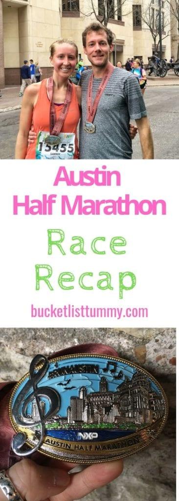 Austin Half Marathon Race Recap