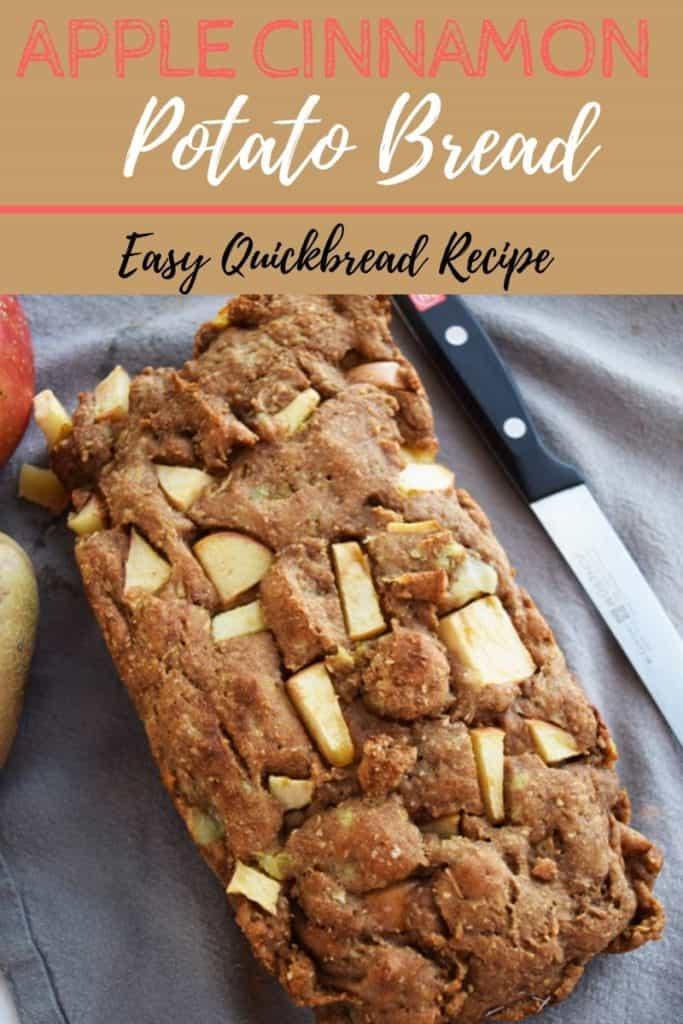 Apple Cinnamon Quickbread recipe