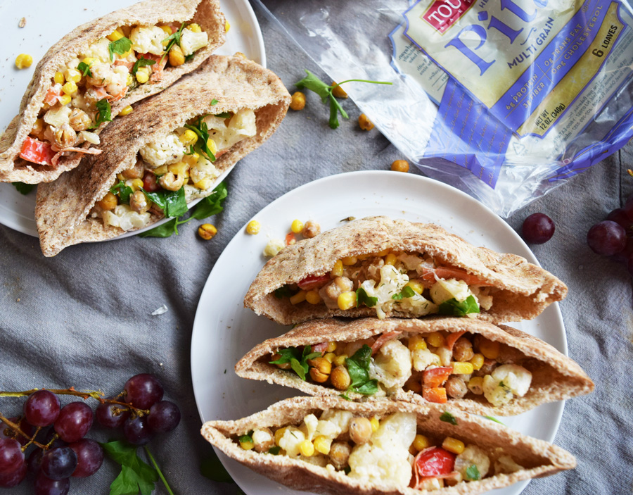 Roasted chickpeas, Vegetarian, Meatless Monday, Pitas
