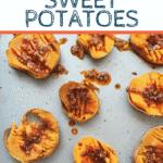 Cheddar Smashed Sweet Potatoes | Bucket List Tummy