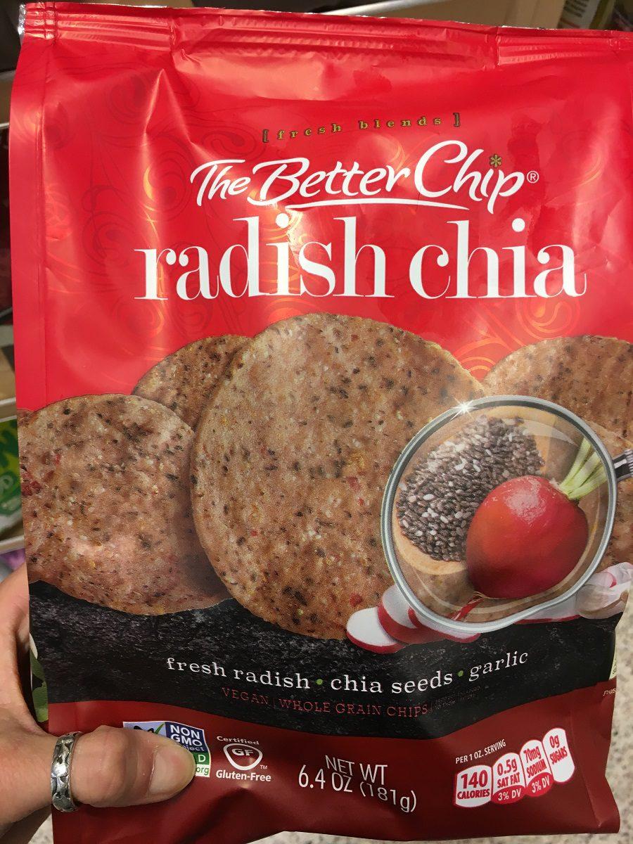 Radish Chia Chips