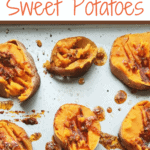 smashed sweet potatoes with butter and cheese | www.bucketlisttummy.com