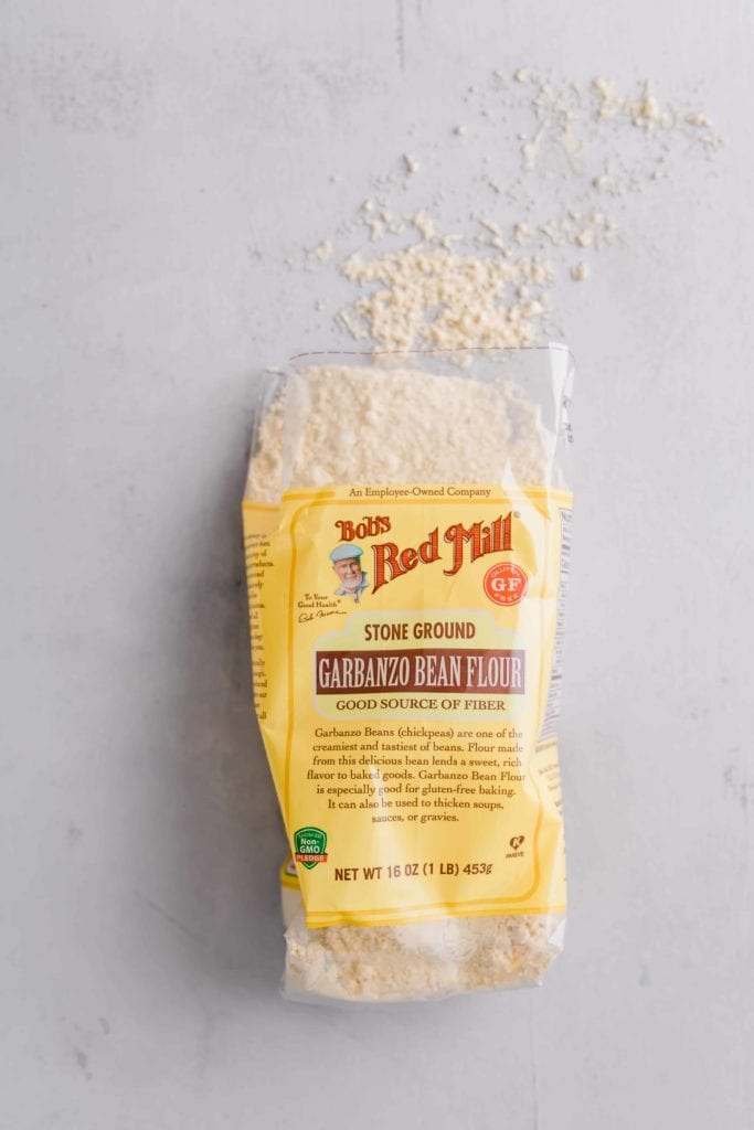 bag of Bob's Red Mill Chickpea Flour
