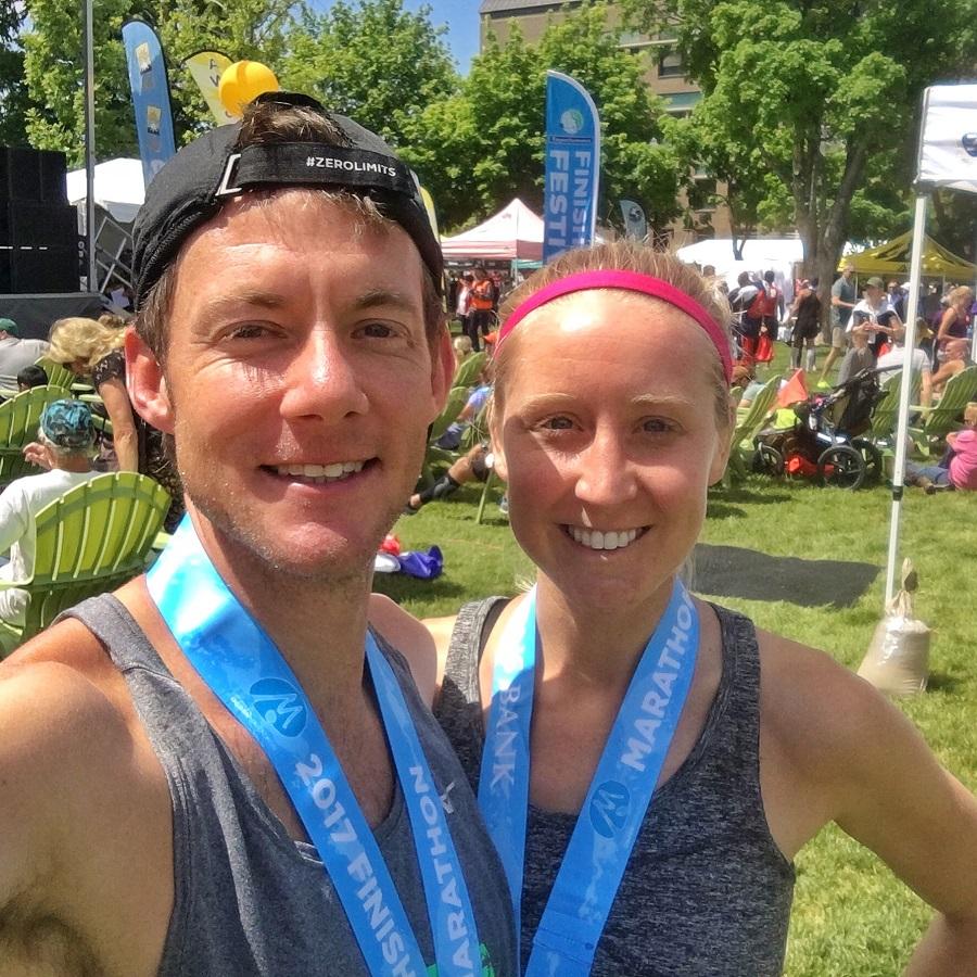 Ogden Marathon Race Recap, blogging lessons