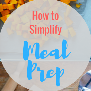 How to simplify meal prep for a busy week || Easy tips for meal planning