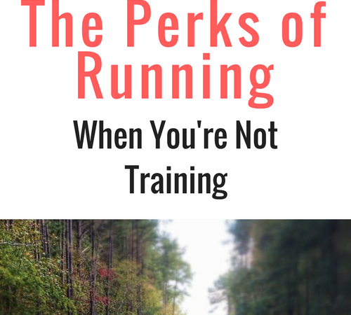 Running When You're Not Training for Anything