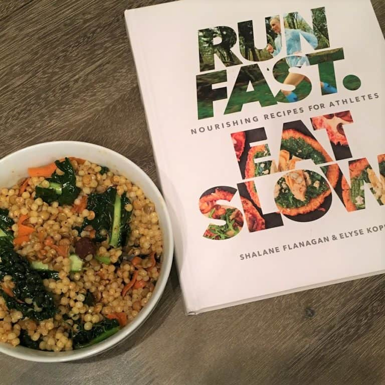 cous cous salad from Run Fast Eat slow