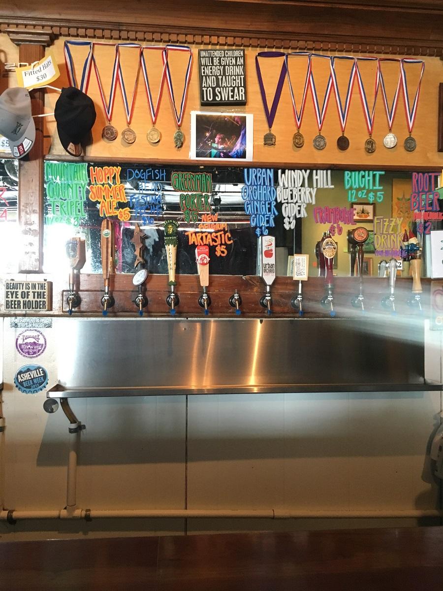 Pisgah brewery