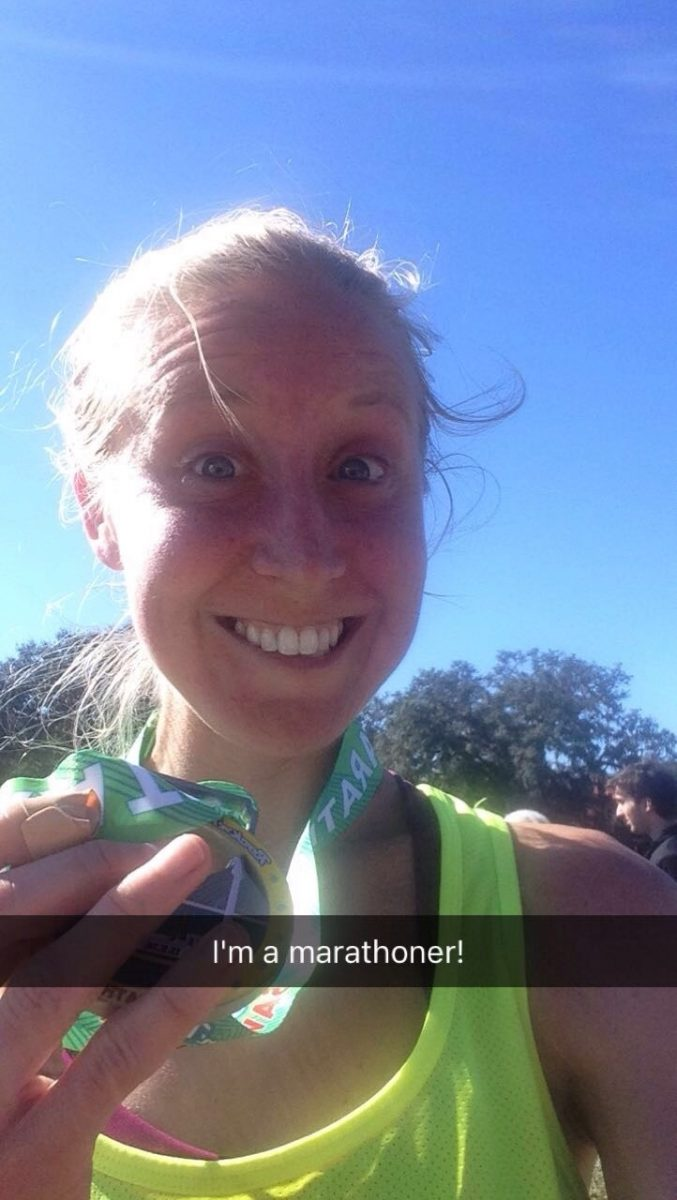 Savannah marathon finisher