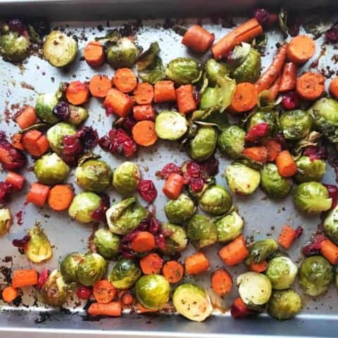 Maple Balsamic Roasted Vegetables