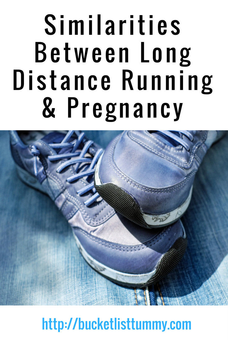 Similarities Between Running & Pregnancy #running #pregnancy #training