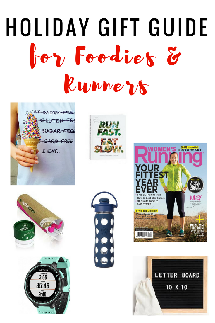 2017 Holiday Gift Guide for Foodies and Runners