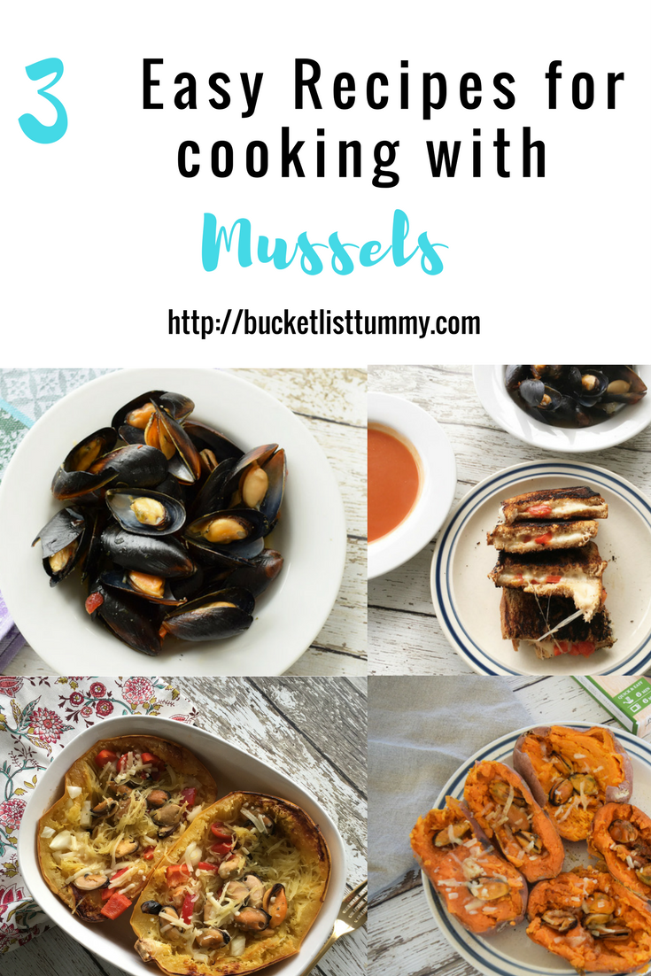 3 easy meal ideas to cook with mussels #sponsored #mussels #seafood