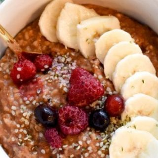 Gingerbread Crockpot Oatmeal