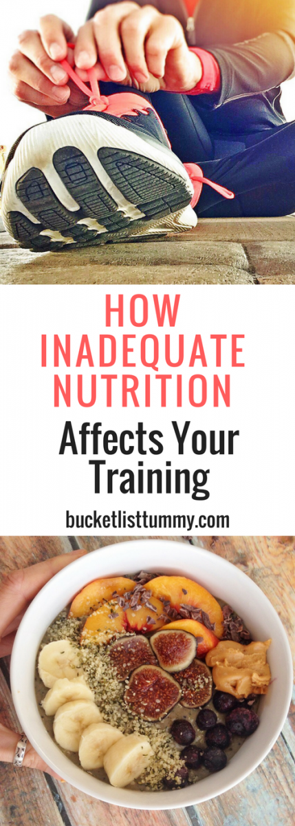 How inadequate nutrition affects your marathon training and recovery