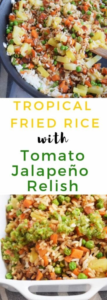 Easy Fried Rice with Pineapple and Veggies