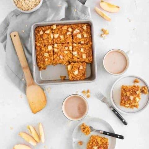 Apple Pumpkin Pie Baked Oatmeal