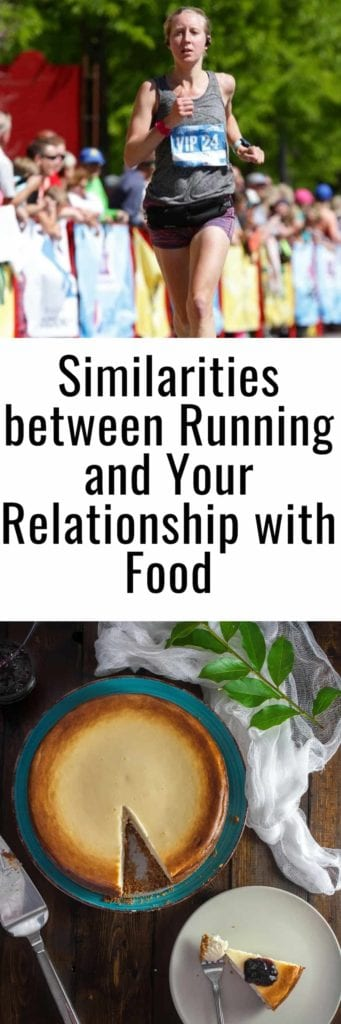 How Running Can Be Similar to Your Relationship With Food