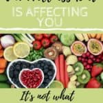 Healthy Foods with text overlay about the Wellness Diet | bucketlisttummy.com