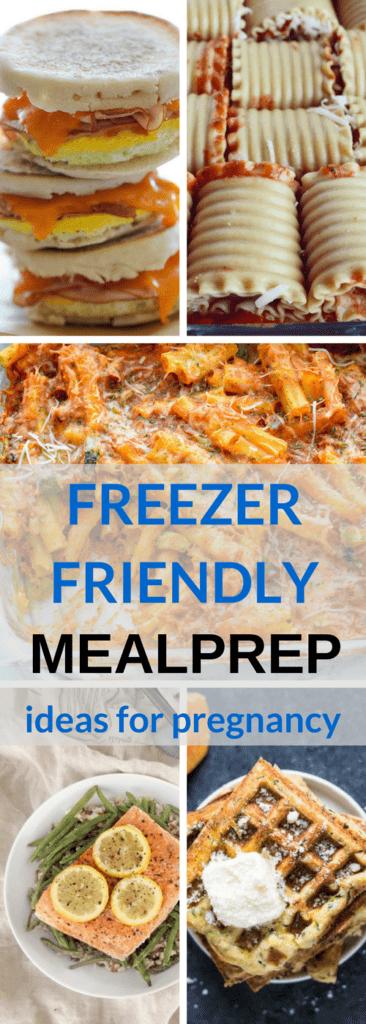 Freezer Friendly Ideas for Meal Prep