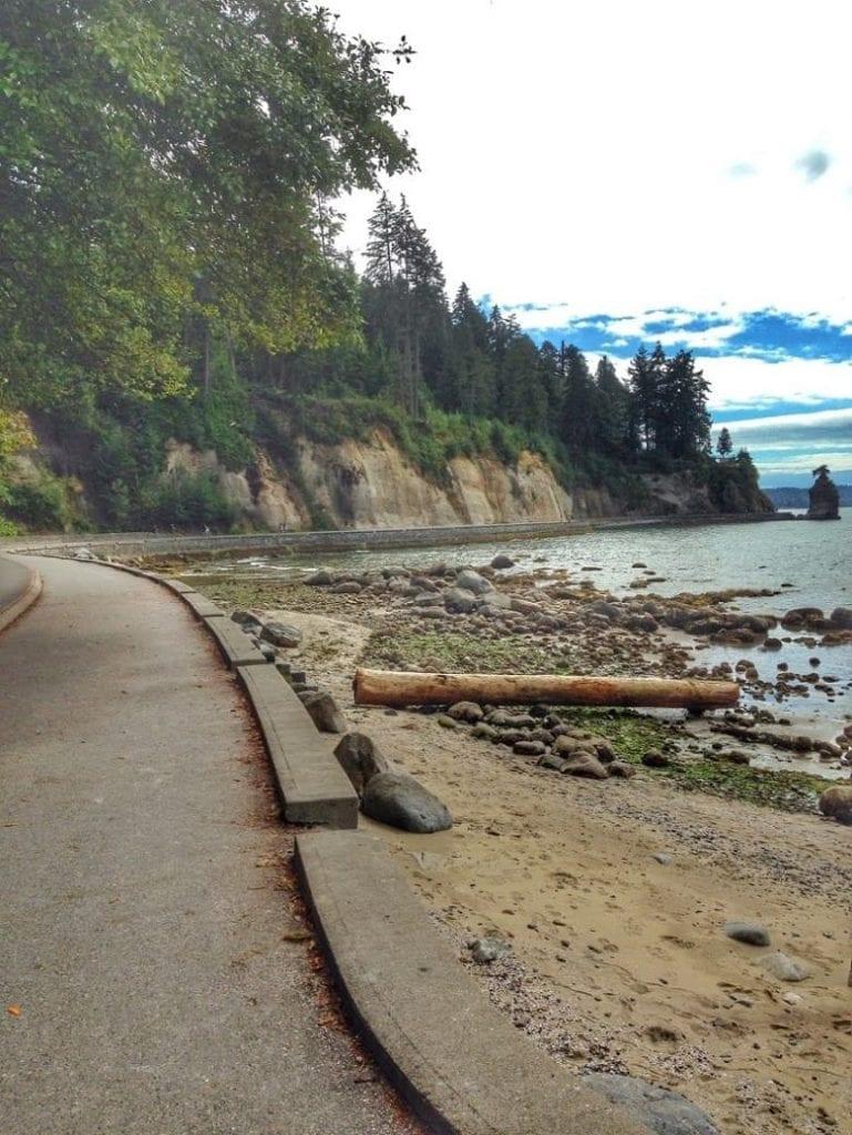 Seawall Running in Vancouver