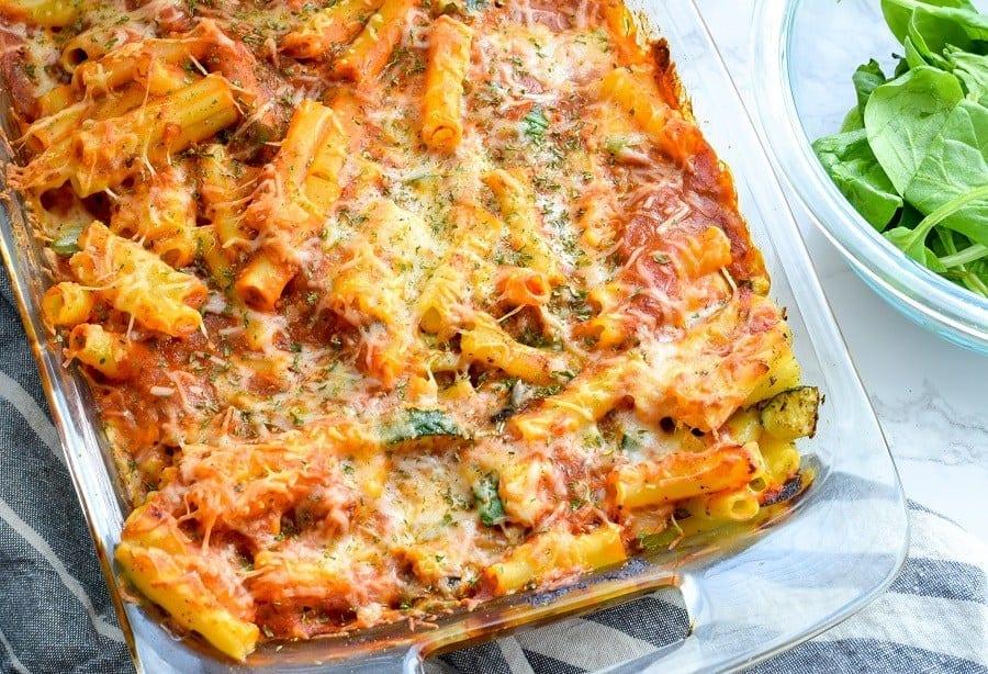 Veggie Pasta Bake