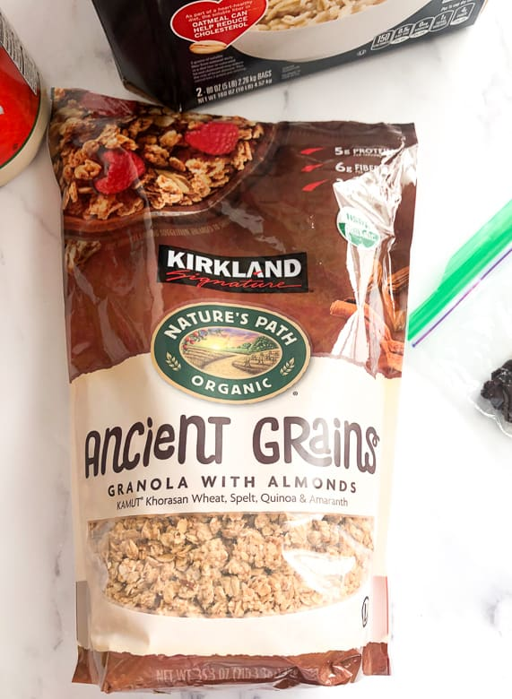 Ancient grains granola from Costco