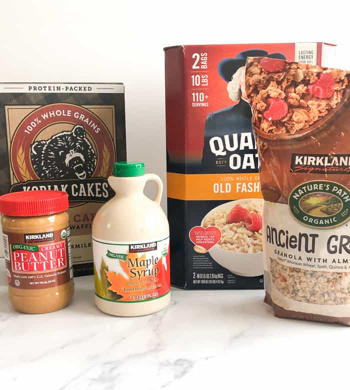 Oats, granola, maple syrup are staples for runners