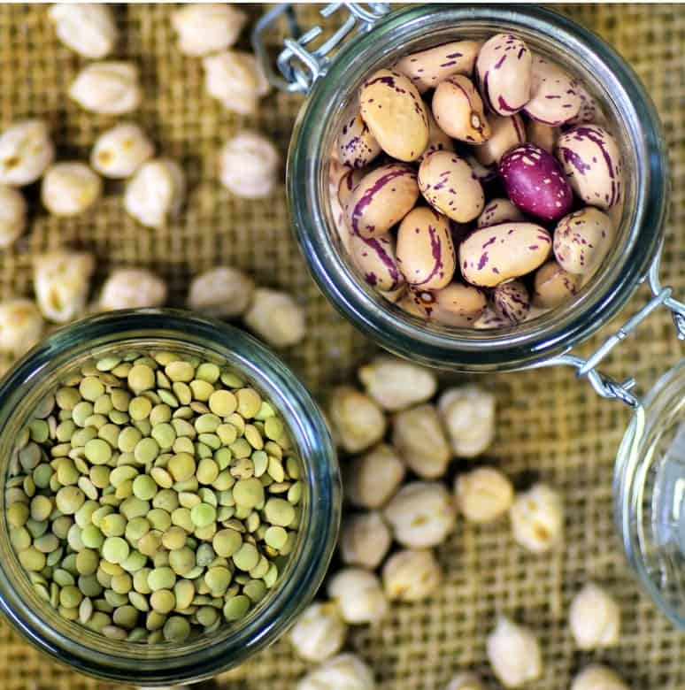beans and legumes for runners