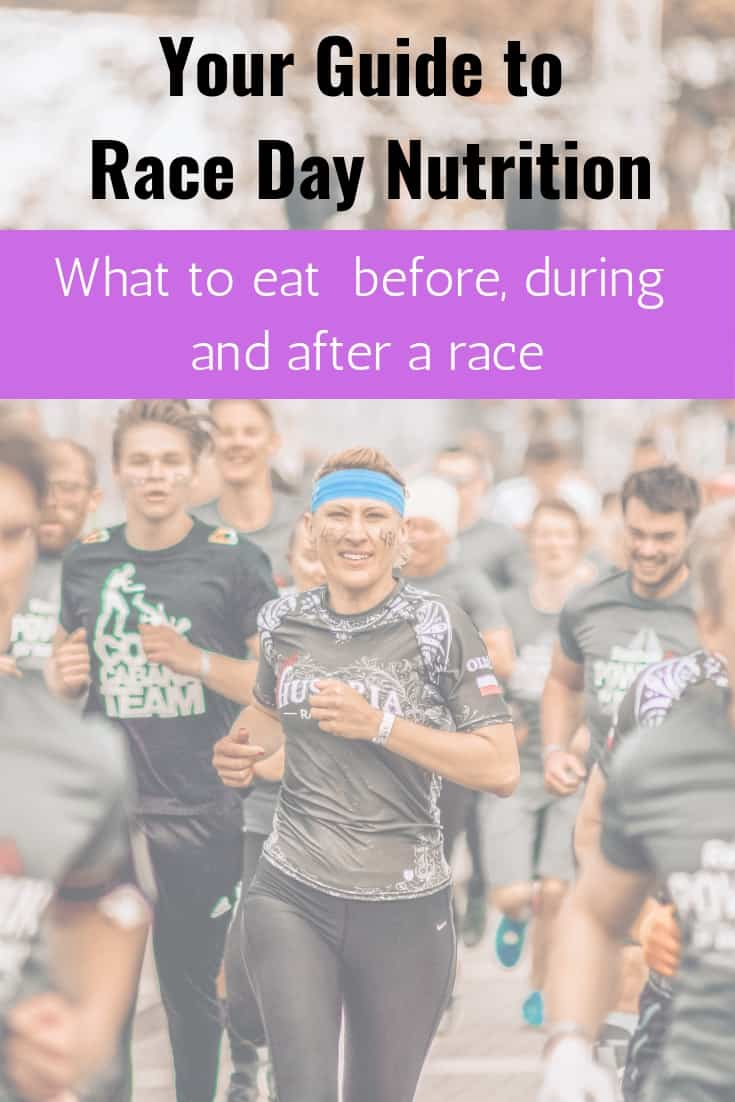 Race day nutrition plan