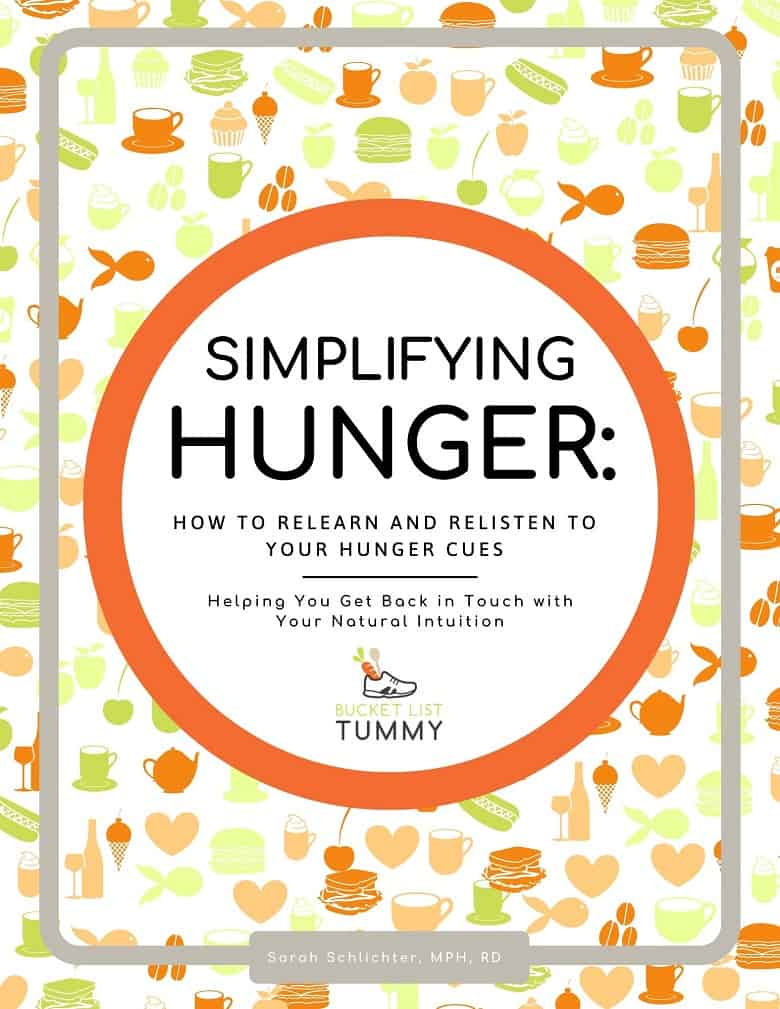 Simplifying Hunger Ebook cover