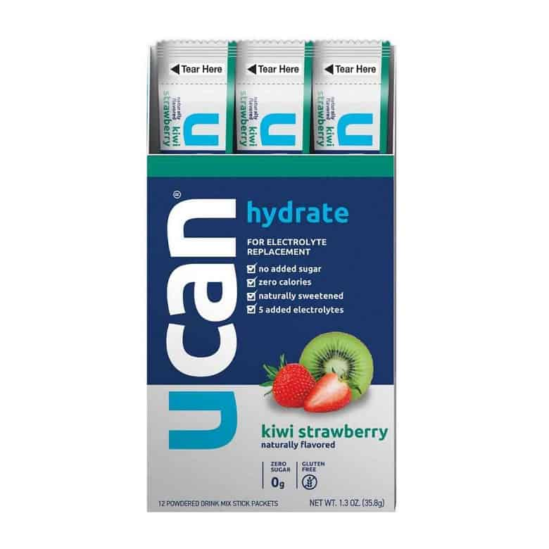 UCAn hydration packets strawberry kiwi flavor