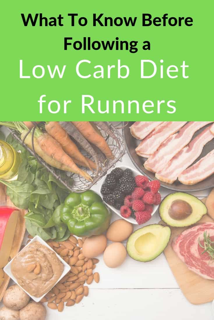 What to know before following a low carb diet for runners