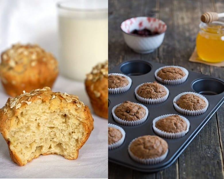 A variety of sugar free baby muffins | Bucket List Tummy