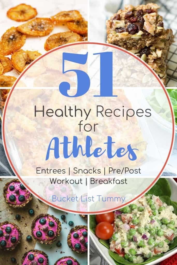 51 Healthy Recipes for Athletes Roundup
