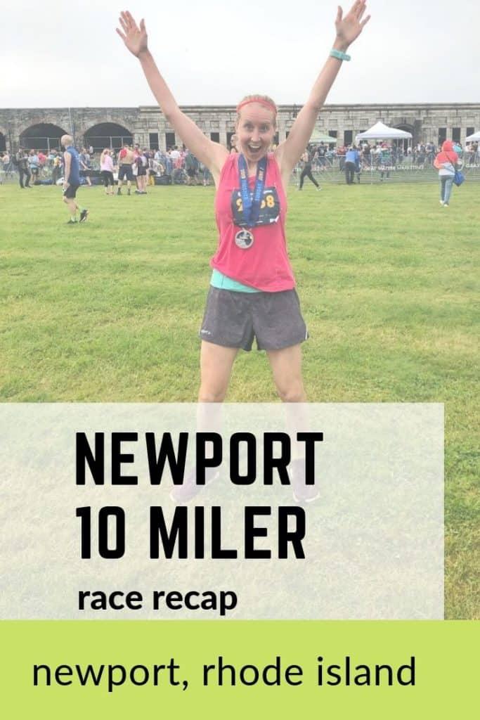 Newport 10 Mile Race Recap from 2019