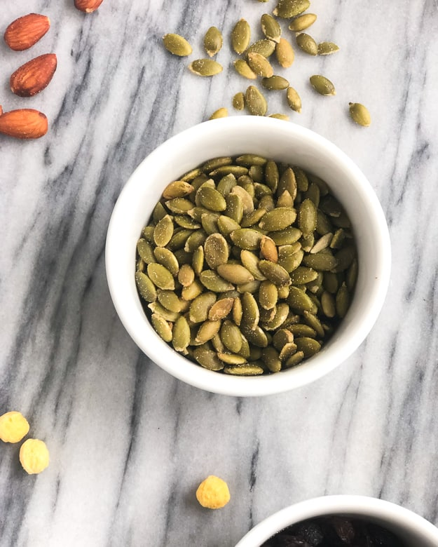 pumpkin seeds for homemade trail mix recipe