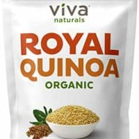 Viva Naturals Organic Quinoa, 4 LB Bag - The Finest 100% Royal Bolivian Whole Grain