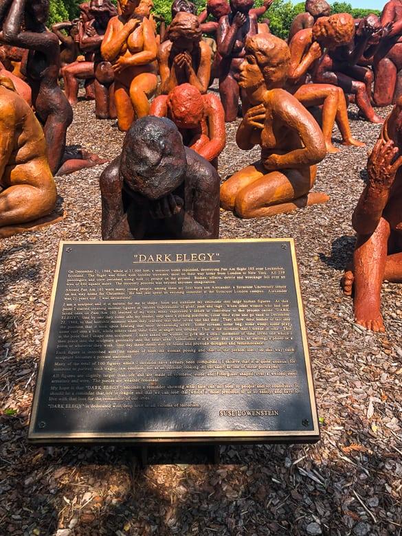 Dark Elegy Memorial in Montauk, NY