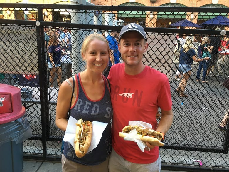 Italian sausages at Fenway Park