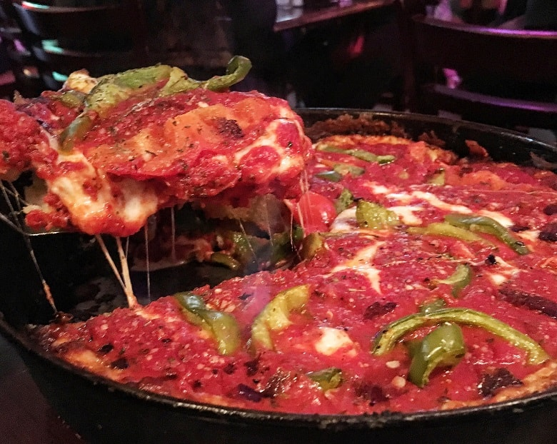 Deepdish Pizza in Chicago
