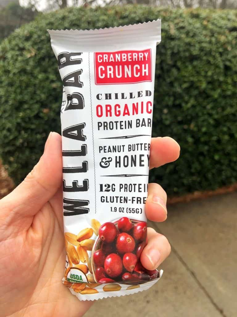 Wella Bar as a snack when traveling