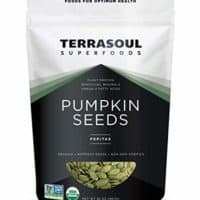 Terrasoul Superfoods Organic Pumpkin Seeds, 2 Lbs - Premium Quality | Fresh | Raw | Unsalted